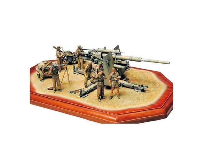 1/35 German 88 mm Gun Flak36 North African Campaign - Imagen 1