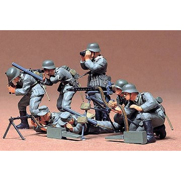 1/35 German Machine Gun Troops - Imagen 1