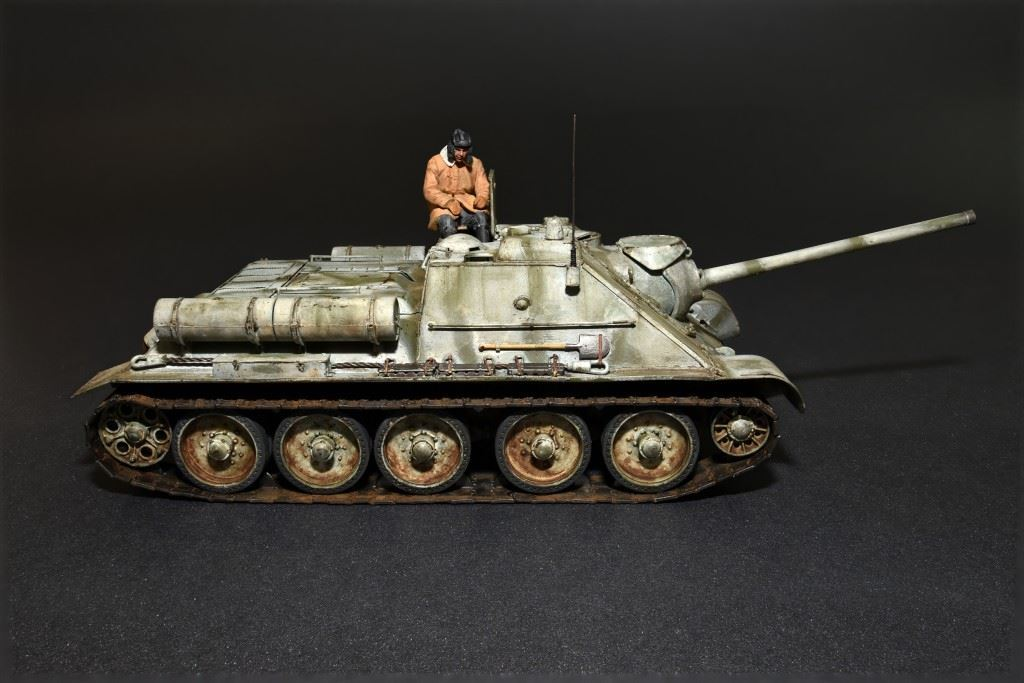 1/35 SU-85 Mod. 1943 (Early Production) w/Crew - Imagen 6