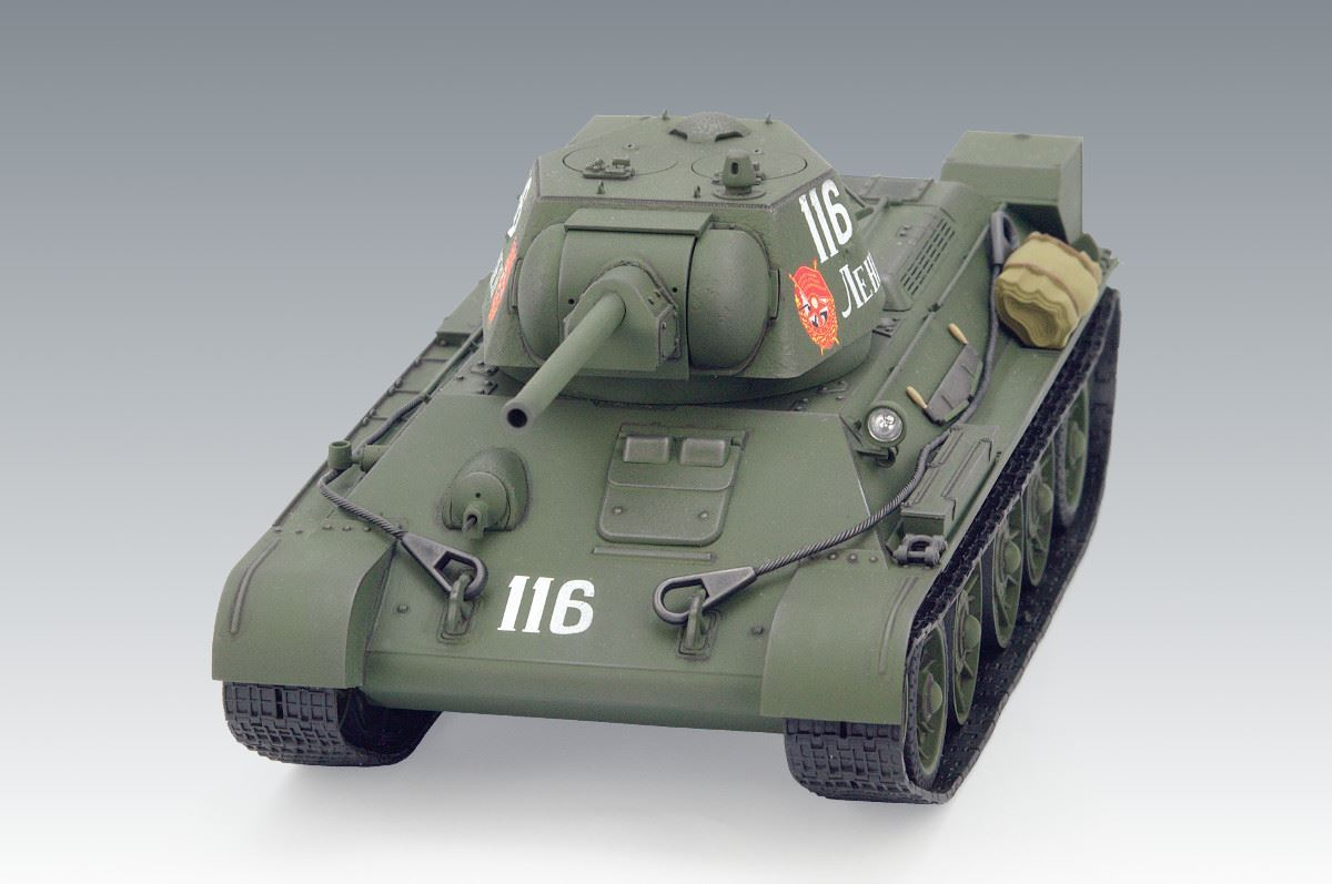 1/35 T-34/76 (early 1943 productions), WWII Soviet Medium Tank (100% new molds) - Imagen 5