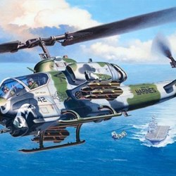 1/48 Bell AH-1W SuperCobra (Helicopters) - Imagen 1