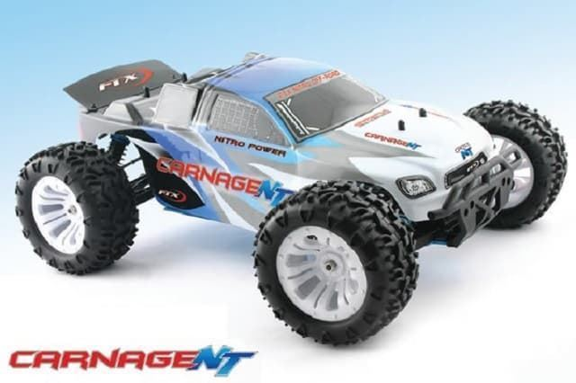 Coche rc monster truck 1/10 Carnage nitro RTR FTXRef.: FTX5540 - Imagen 1